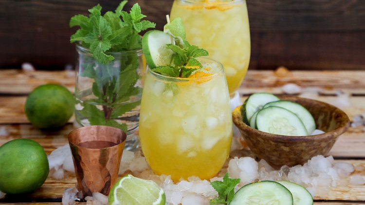 Sunny Cucumber Lime Mule