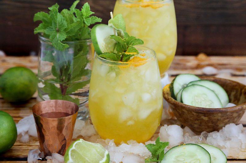 Sunny Cucumber Lime Mule