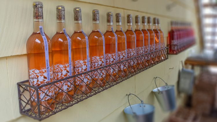 Croteaux Vineyards Rose Wine