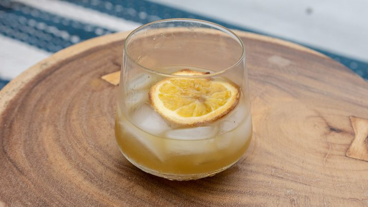 Maple Orange Old Fashioned cocktail