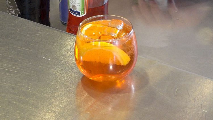 The Tasting Room, Sipping the Aperol