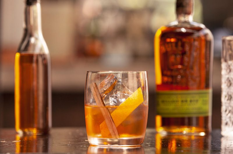 Bulleit Rye Apple Pie Old Fashioned
