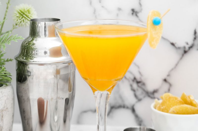 Orange Ginger Martini