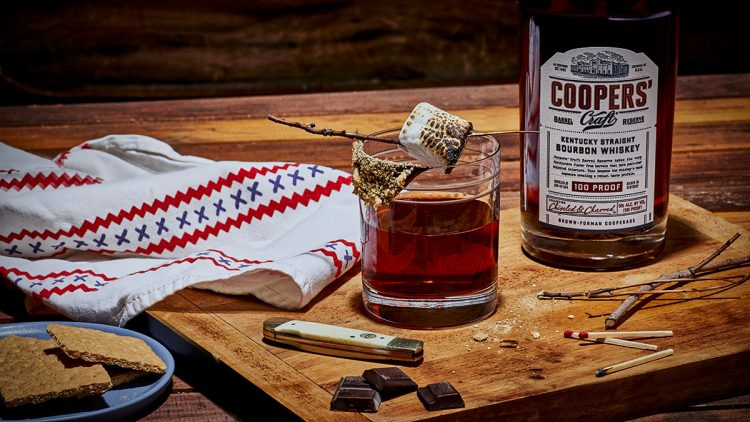 Salty Smoked S'mores Boulevardier