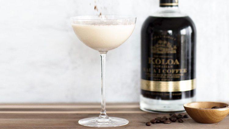 Coconut Coffee Coquito cocktail