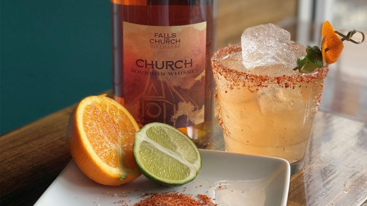 Church Bourbon Margarita