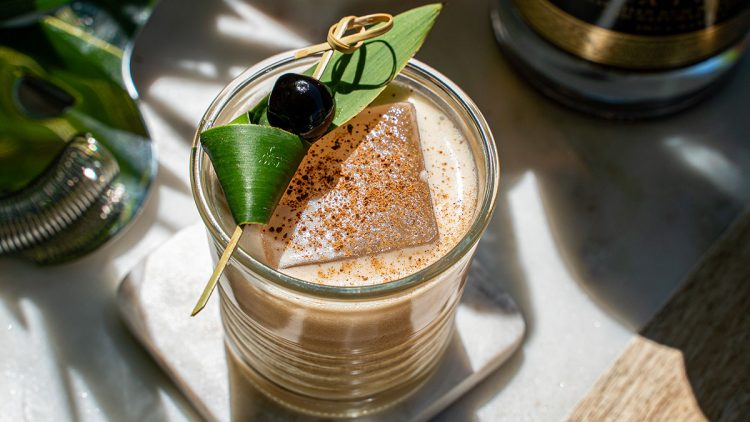 Spiced Pineapple Coffee Wake-Up Call cocktail