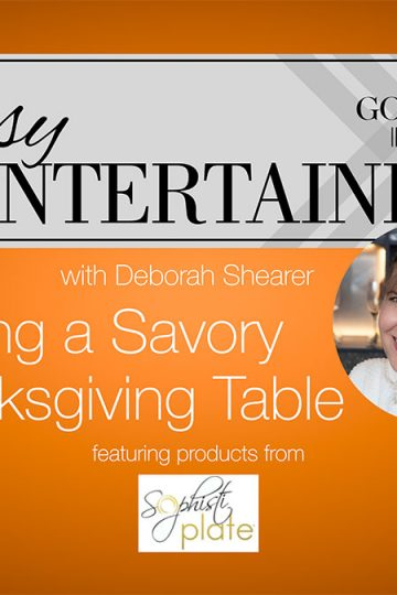 Setting a Savory Thanksgiving Table