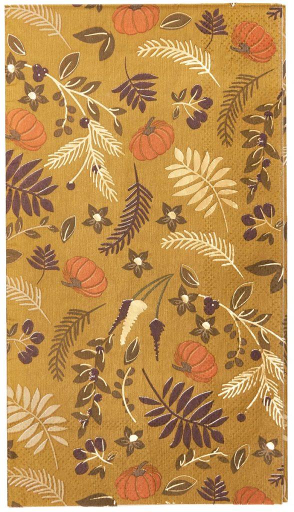 Gold Harvest Paper Guest Towel