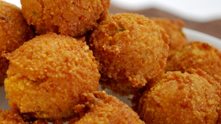 Honey Chipotle Hush Puppies