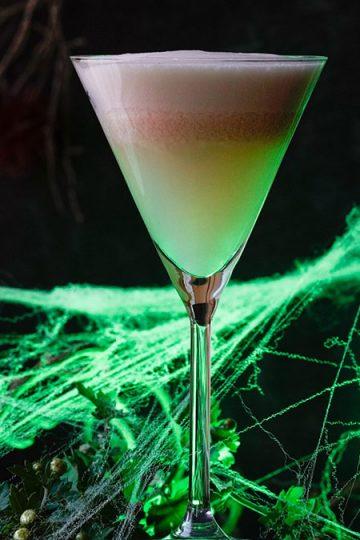 Spooky Green Fairy cocktail