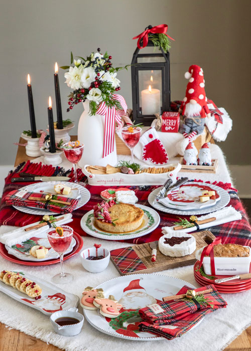 Mudpie Table setting