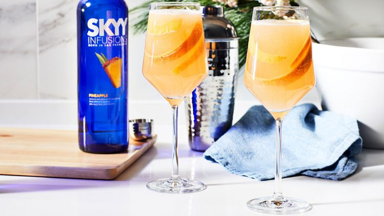 SKYY Holiday Mimosa