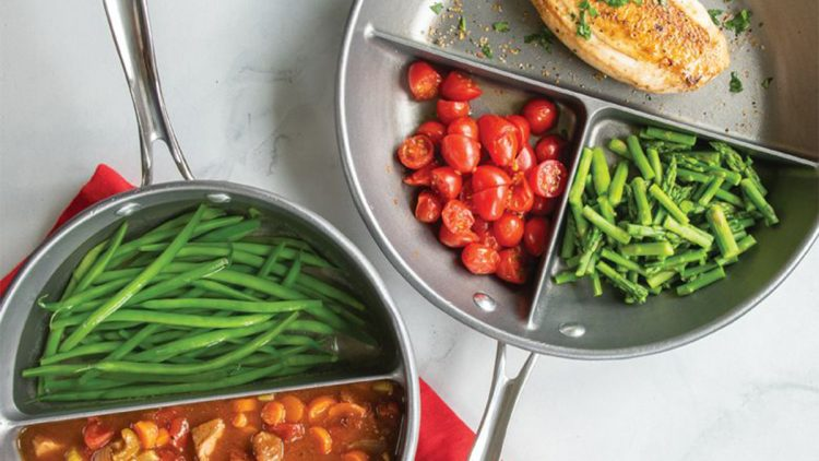 Nordic Ware's divided pans