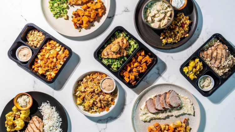 A table full of healthy meals