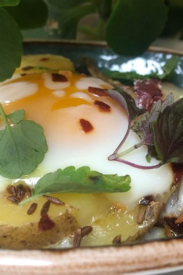 A Persian Egg dish