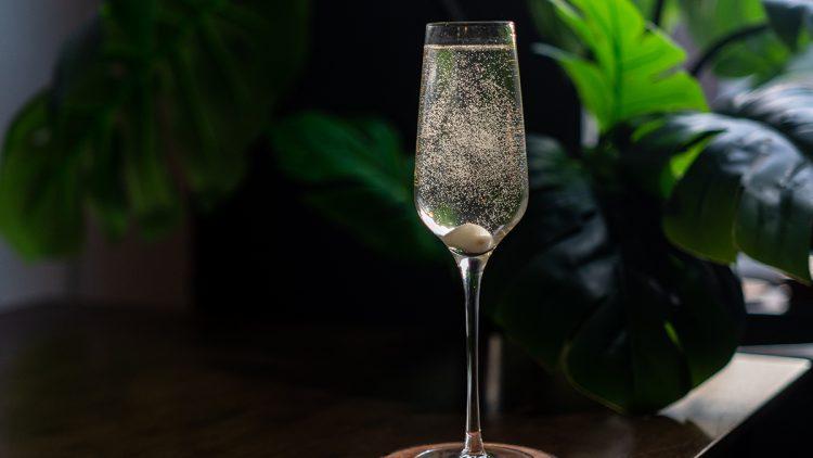 A champagne martini