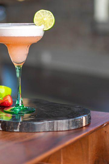 Margarita on a table