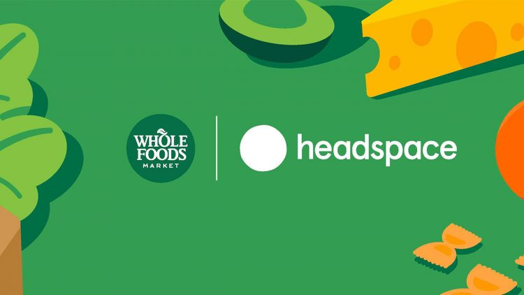 Whole Foods and Headspace Logo