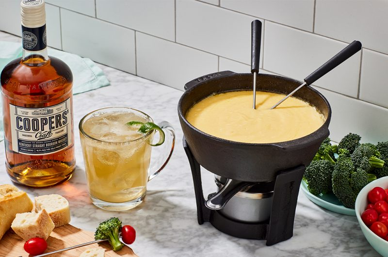 Di Bruno Bros. And Coopers' Craft Bourbon Cheese Fondue