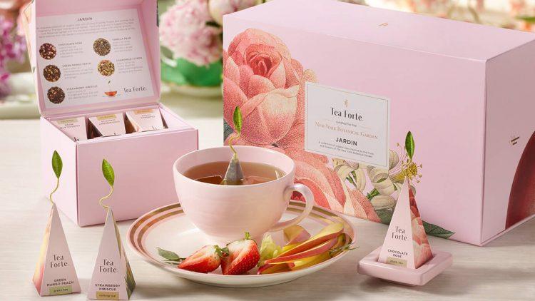 Tea with gift set